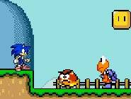 Sonic in Mario World 2 4351