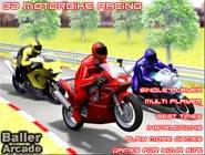3D Bike racing