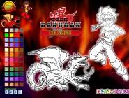 Code Bakugan Coloring