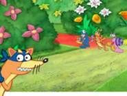 Dora Egg Hunt