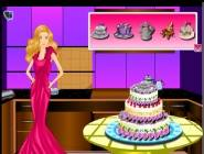 barbie cake decoration games cake decoration free at playpink 10417
