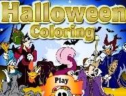 Halloween Coloriage