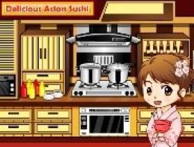jouer gratuitement delicious asian sushi. Black Bedroom Furniture Sets. Home Design Ideas