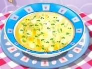 Ecole de cuisine Sara : Chicken Soup