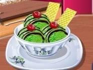 Ecole de cuisine de Sara : Glace au thé vert