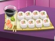 Sara's Cooking Class : California Rolls