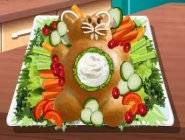 Ecole de cuisine de Sara : Pain sucré en forme de lapin