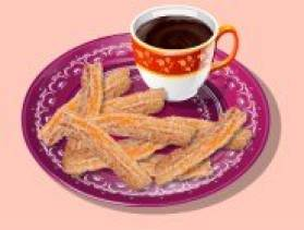 Jeu en ligne ecole de cuisine de sara churros au chocolat - Jeux de l ecole de cuisine de sara gratuit ...