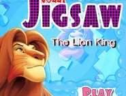 Puzzle Roi Lion