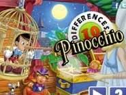 10 Différences Pinocchio