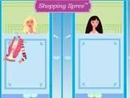 Barbie fait du shopping