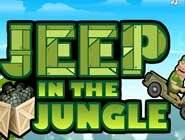 Jeep dans la jungle