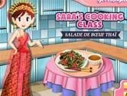 Ecole de cuisine Sara: Salade de Boeuf Thaï