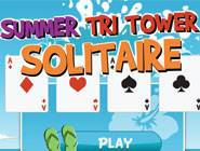 Summer Tri Tower Solitaire
