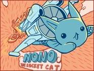 Nono, The Rocket cat
