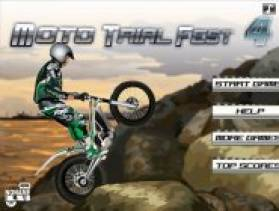 moto trial fest 4 jeux de moto cascade gratuit. Black Bedroom Furniture Sets. Home Design Ideas
