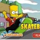Bart Simpson Skateboarding