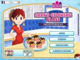 Ecole de cuisine sara ecole de cuisine de sara profiteroles - L ecole de cuisine de sara ...