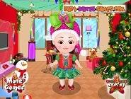 Bébé Hazel: Noël