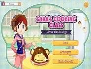 jeu ecole de cuisine sara: gâteau tête de singe