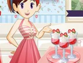 Jeu ecole de cuisine sara parfait aux fraises sur - Jeux de cuisine ecole de sara gratuit ...
