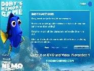 Dory's Memory Game