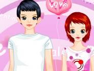 Valentine's Couple Dress Up