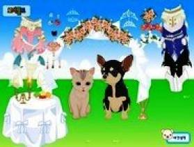 Pet wedding dress up jeux d 39 habillage de fille gratuit for Jeux d habillage de mariage en ligne