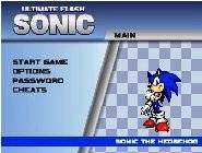 jeux flash sonic