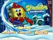 Sponge Bob SnowBoarding