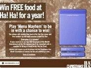 Menu Mayhem