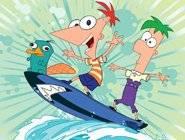 Phineas et Ferb dans les transport-inateurs de la moooort