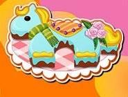 Gâteau d'anniversaire Poney