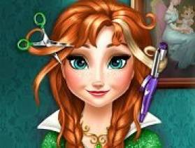 jouer coiffure anna reine des neiges
