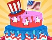 Gâteau Surprise 4 Juillet