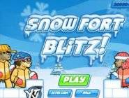 Snow Fort Blitz