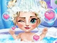 Elsa Baby Bath