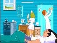 Bisous à l'Hôpital