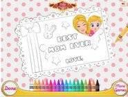 Barbie Carte Fête des Mères