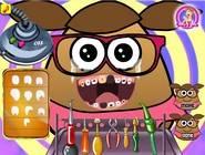 Pou Girl At The Dentist
