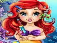 Bébé Ariel Vraie Coiffure