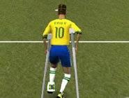 Neymar Blessé