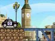 Dynamite Blast Police Car