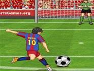 Messi Reprise de Volée