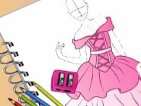 Jeu studio de mode robes de princesse gratuit sur for Robe de mariage conception de jeux en ligne gratuit