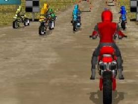 jeu moto 3d dirt bike racing gratuit sur. Black Bedroom Furniture Sets. Home Design Ideas