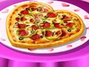 Pizza de Saint Valentin