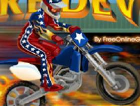 DareDevil Motorbike stunt - Free game at Playhub.com