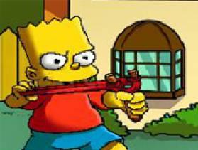 Jeu bart simpson lance pierre gratuit sur - Jeux de lance pierre ...