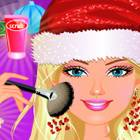Barbie Christmas Make Up